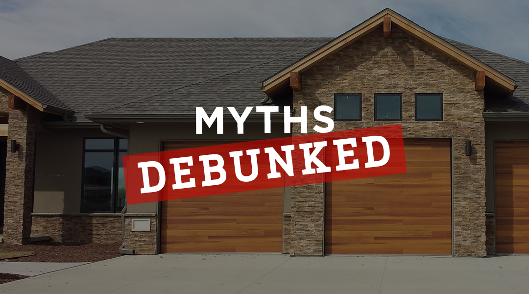 Blog-3 Common Garage Door Myths DebunkedTW