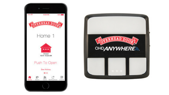 Get The Overhead Door Anywhere App