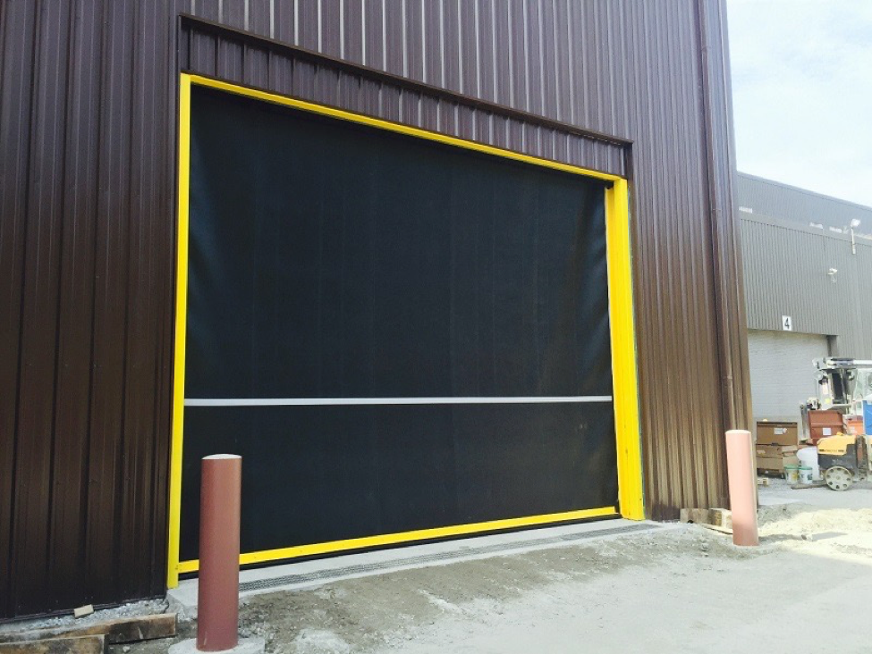 One Year Ago: The Birth of the High-Speed Commercial Overhead Door