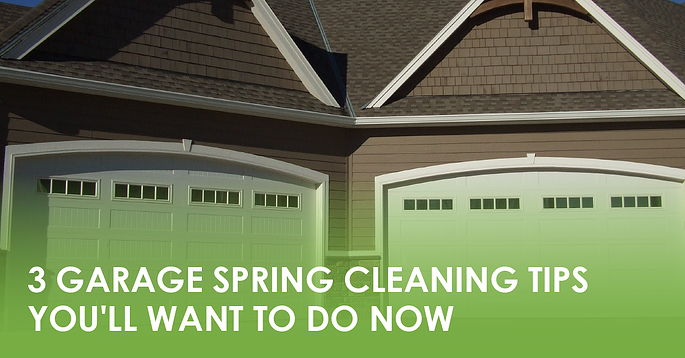 3 Garage Spring Cleaning Tips You'll Want To Do Now