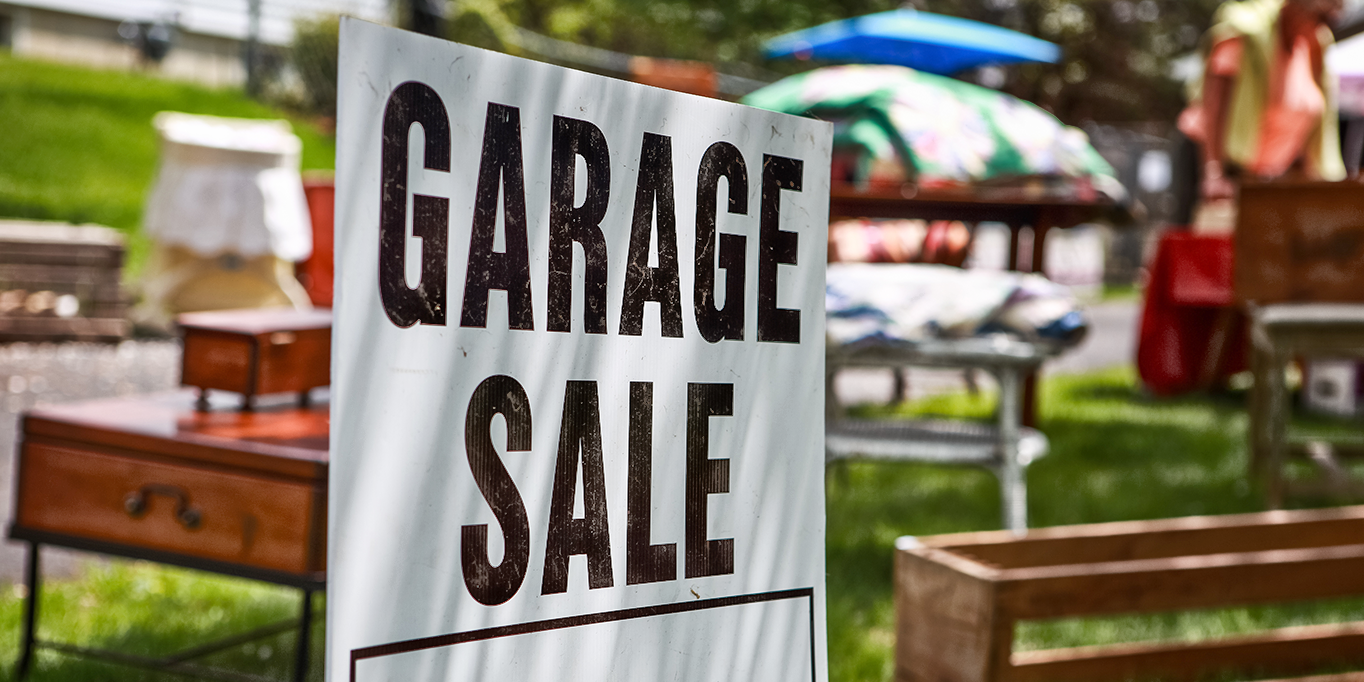 Get Ready: Garage Sale Season is Here