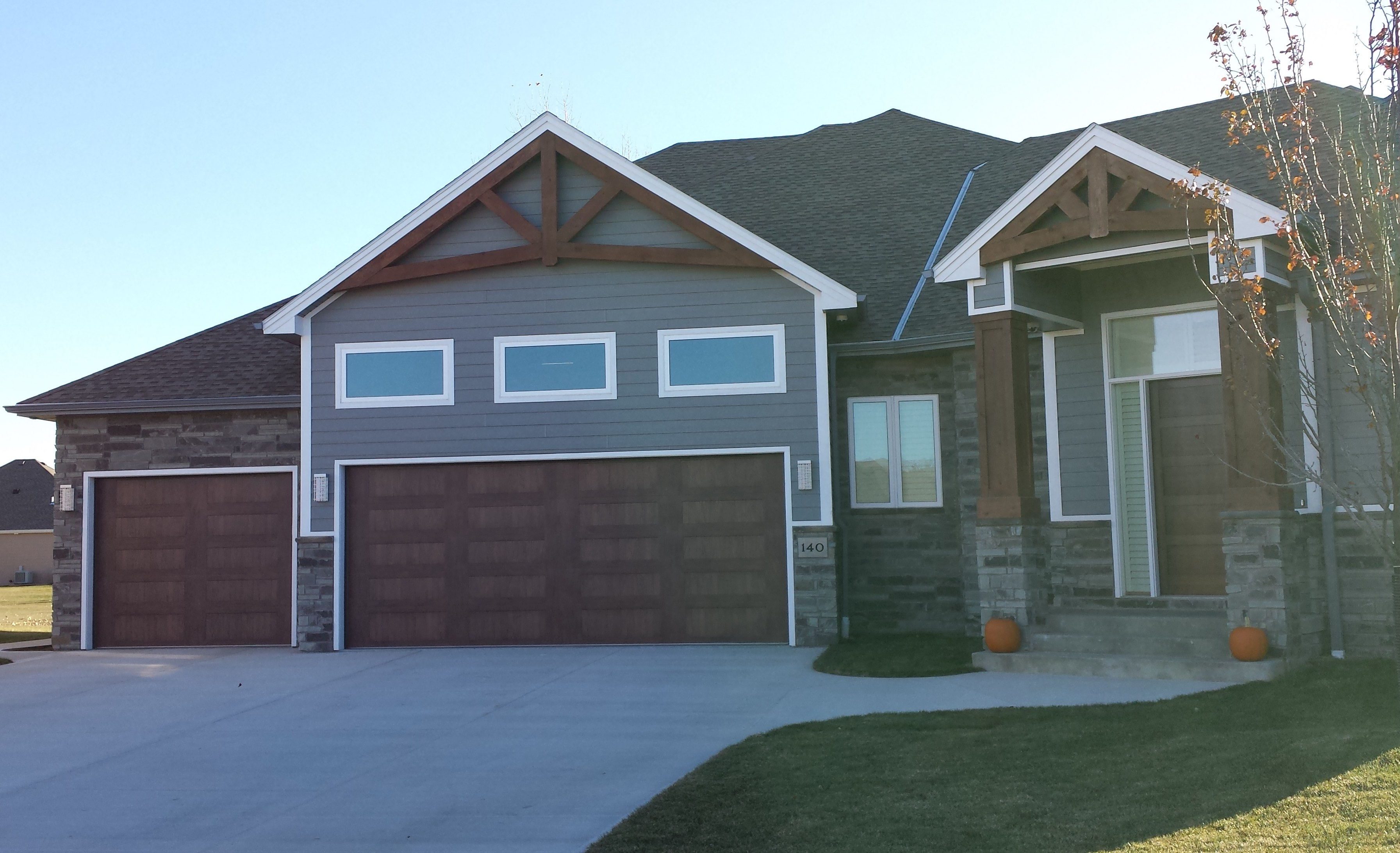 Fake Is The New Fabulous   Just Check Our Our Faux Wood Garage Doors