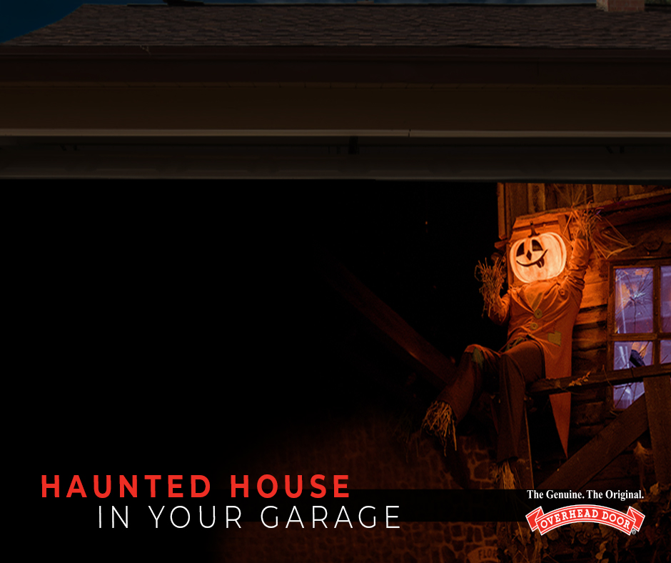 Haunted House in Your Garage