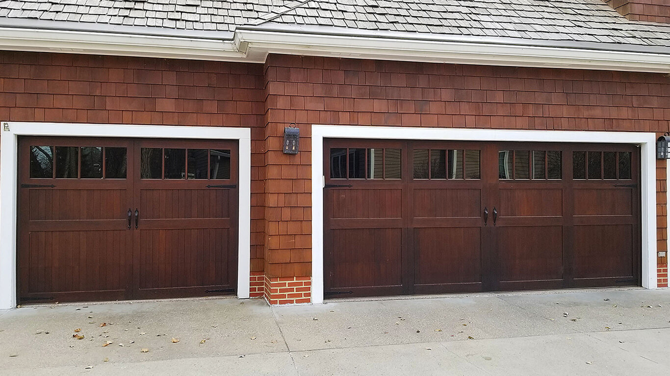 Wood Overlay Carriage House